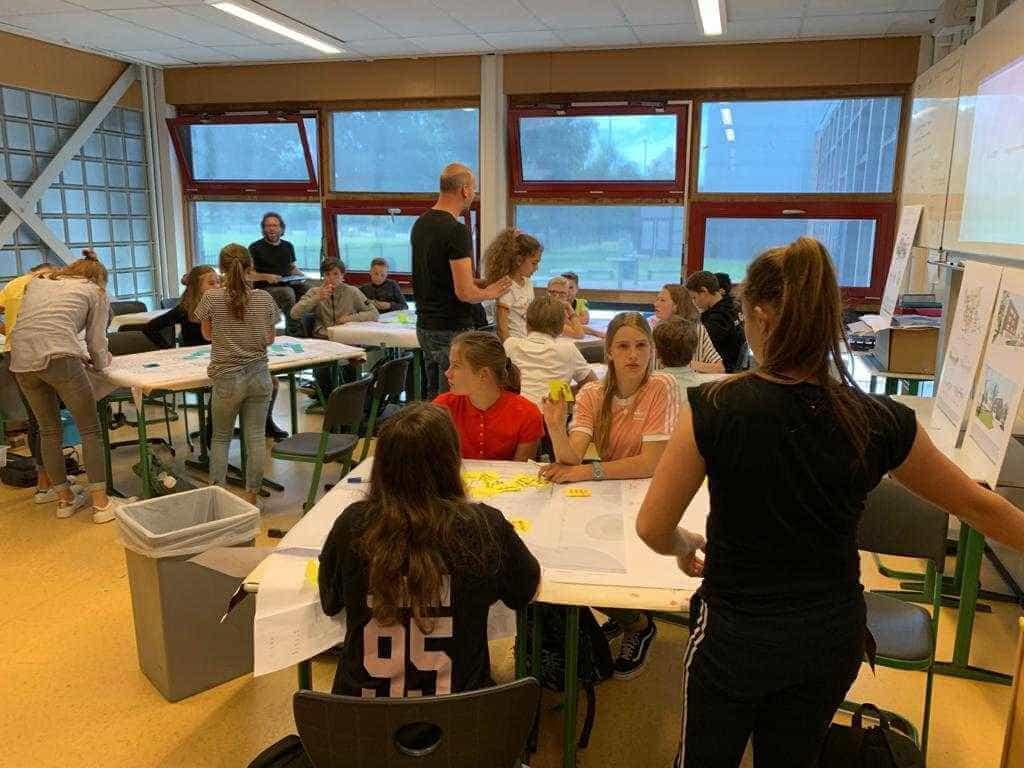 cocreatie met leerlingen