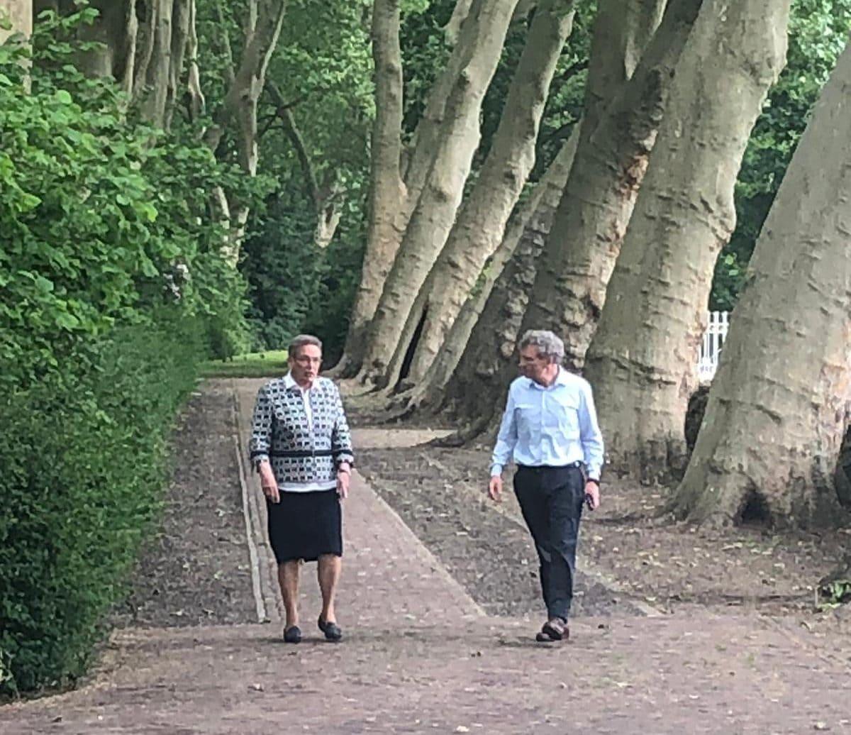 Leefgoed met zuster Gerda en Rijksbouwmeester FLoris van Alkemade